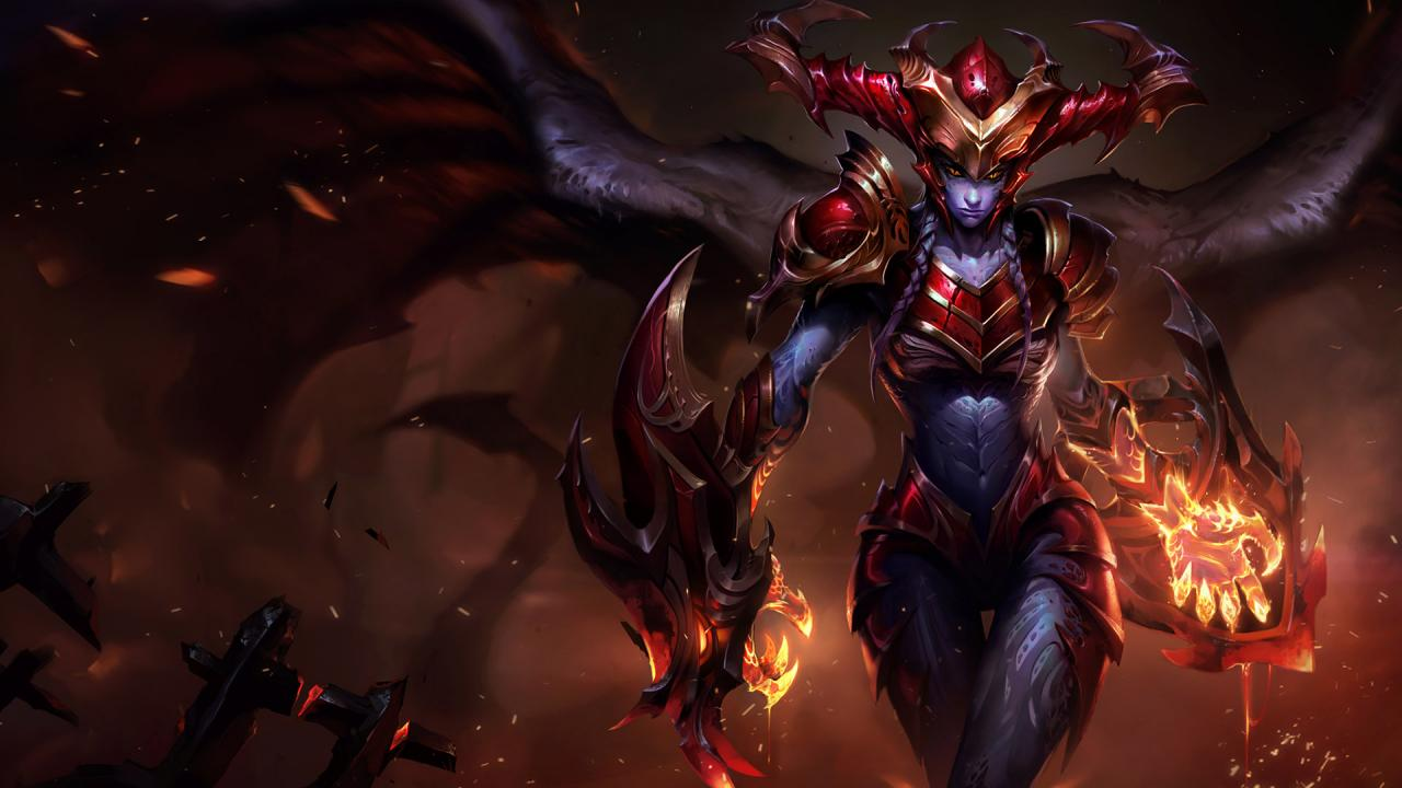 Shyvana Yetenek Güncellemesi League Of Legends